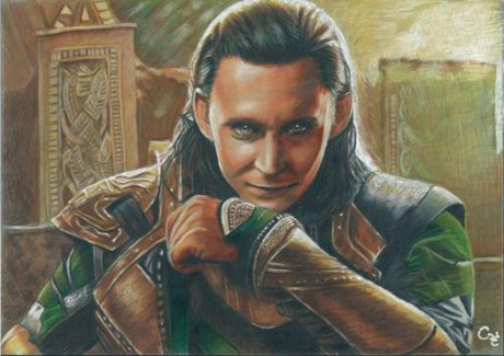 (584)Tom Hiddleston Loki